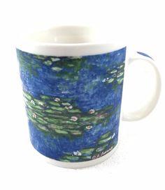Chaleur Monet Nympheas Water Lilies Coffee Mug 14 oz Impressionist Art D Burrows #Chaleur