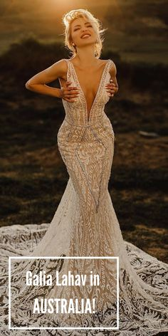 Are you ready for this?! Galia Lahav is coming to Australia! With an exclusive trunk show at Eternal Bridal! June 15-17 Melbourne June 22-24 Sydney June 29 - July 1 Gold Coast Sign up!