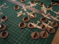 laser cut model aeroplanes