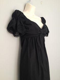 Theory cotton blend dress