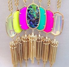 I'm obsessed with Kendra Scott. Can't wait til I can afford one of these beautiful necklaces.