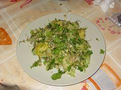Germogli e insalata