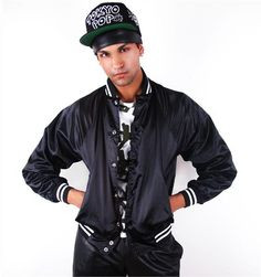 Keith Haring by Houseof Field 3 Eyed Face Satin Jacket