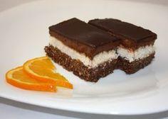 Neodolala som a skúsila ešte takýto čokoládovo kokosový zákusok bez múky, cukru a pečenia