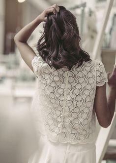 Glissez-vous dans une robe Laure de Sagazan pour votre mariage !