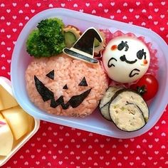 ☆幼稚園弁当☆ハロウィンが近づいてきたね〜( ̄▽ ̄) キャラ弁|レシピブログ