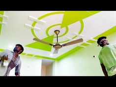 Design Discover wall painting design & washable HD home decor. Plaster Ceiling Design, Interior Ceiling Design, Pop False Ceiling Design, House Ceiling Design, Pop Design For Roof, Green House Design, Bedroom Pop Design, Door Frame Molding, Hall Painting