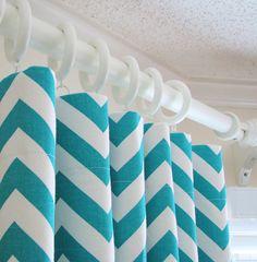 chevron curtains