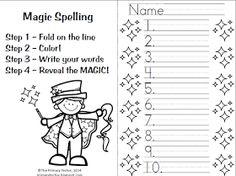 27 besten Spelling Bilder auf Pinterest | Schule, Unterricht ideen ...