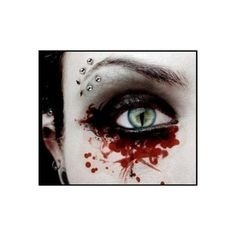 Gothic Eye myspace background ❤ liked on Polyvore featuring eyes, backgrounds, makeup, people and photos