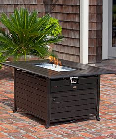 Look at this Extruded Aluminum Rectangular Fire Pit on #zulily today!