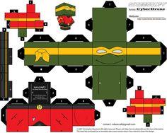 Cubee - Chief Engineer Michaelangelo by CyberDrone on deviantART