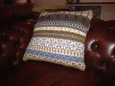 fair isle pillow/design marieke walstra