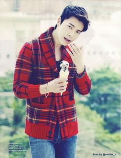 Donghae (동해) of Super Junior for CeCi Magazine Thailand January 2013 Issue