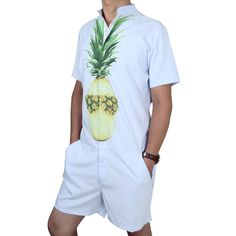 7bb5f19a3d08 Buy hipster products online. Romper MenBuy ShortsPineapple PrintMan Set PlaysuitJumpsuitRompersOne ...