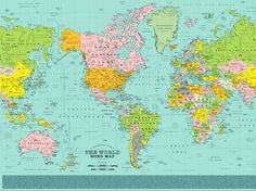 """The designers behind the """"Alternative Love Blueprint"""" are back with a map of the world. Only this map uses song titles instead of place names."""