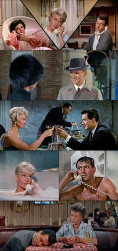 Pillow Talk (1959), Doris Day, Rock Hudson, Tony Randall, directed by Michael Gordon. Loved this movie.