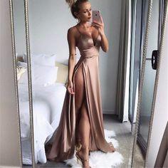 Sheena Double Slit Maxi Dress