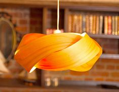 Minnow creates spectacular lamps from New Zealand Macrocarpa and laser-cut bamboo Minnow Twist copper and macrocarpa lamp – Inhabitat - Green Design, Innovation, Architecture, Green Building Bamboo Pendant Light, Bamboo Light, Bamboo Lamps, Paper Light Shades, Lamp Shades, Bamboo Design, Ceiling Decor, Pendant Lamp, Pendant Lights