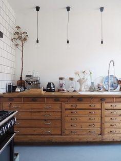 Home Interior Kitchen .Home Interior Kitchen Kitchen Interior, Kitchen Decor, Interior Modern, Interior Paint, Unfitted Kitchen, Classic Kitchen, Vintage Kitchen, Cuisines Design, Cheap Home Decor
