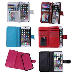 $32 Buy iPhone 6/6 Plus And Samsung Smartphone Removable Wallet Case With Wristlet by Vista Shops on OpenSky
