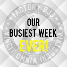 This week has officially been Factory's busiest ever week on so many levels. I'm not one for looking back too often but the classes and progress recently have been just amazing. Keep up the great work everyone I'm looking forward to seeing that continue throughout the summer and beyond! #BJJ #FactoryBJJ #BJJinManchester