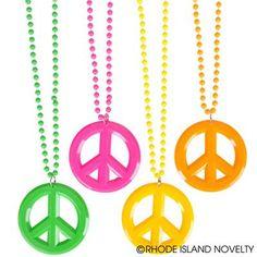 Peace, Love & Books (Book Fair) Ideas:  $3.60 for a dozen necklaces