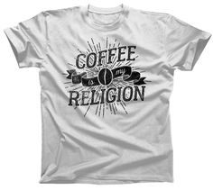 Men's Coffee Is My Religion T-Shirt