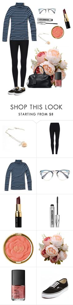 """At the Hair Dresser's"" by owlenstar on Polyvore featuring Hollister Co., Bobbi Brown Cosmetics, Bare Escentuals, Milani, NARS Cosmetics and Vans"