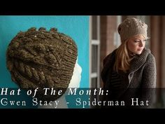#Knit Cable Hat using DPN'S (Lion Brand Pattern) Video 1 - YouTube