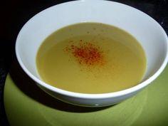 Soupe sublime de pois cassés