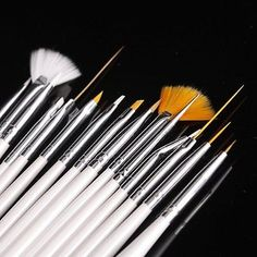 15pcs nail art gel #design pen painting #polish #brush dotting drawing tool set m,  View more on the LINK: http://www.zeppy.io/product/gb/2/221705264355/