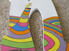 Dr. Seuss Wooden Letters for Nursery or Play by CreationsbyReb, $35.00