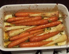 Roasted carrots and parsnips with maple and orange glaze - CookTogether