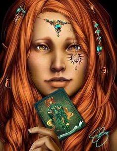 """Gypsy: """"The Magician,"""" by Hunter Bonyun. A Gypsy represented by the second card of the Major Arcana, The Magician. Fantasy Magic, Fantasy Art, Fantasy Story, Magic Art, Character Portraits, Character Art, Character Ideas, Character Inspiration, Fantasy Characters"""