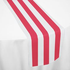 Red Nautical Table Runner by Chair Covers & Linens