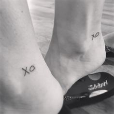 "Cousin tattoo, Grandma's ""Xo""/ all the feels ❤️"