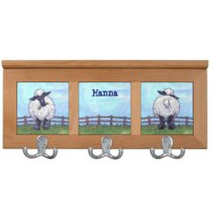 Sheep Gifts & Accessories Coat Rack