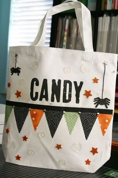 Crafty Lady Abby: Trick or Treat Bags