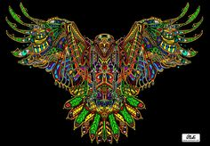 """""""Pineal Eagle"""" by Ivi Mo"""