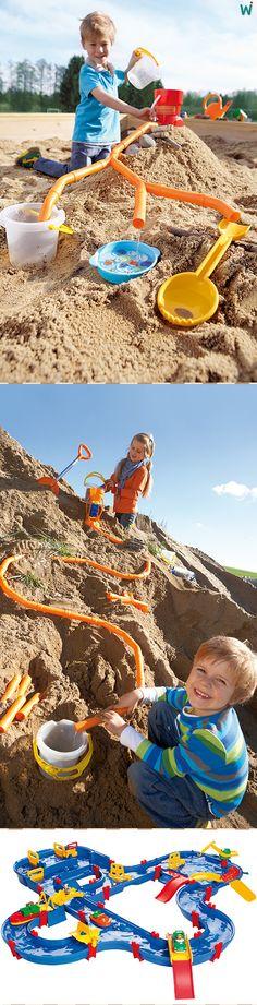 Beim #planschen mit #Wasser und #Sand machen Kinder Körpererfahrungen mit all ihren Sinnen und stärken ihre Eigenwahrnehmung. ► https://wehrfritz.com/de_DE/wasser/outdoor/krippe-kindergarten/c/kk_outdoor_wasser?zg=krippe_kindergarten&nav=navnode-cat_krippe_kindergarten-kk_outdoor_wasser_11.4.1434315130705&ref_id=60847 #Matschen #Kinder #Spiel #Outdoor #Kita #Kindergarten #Schule #Spielgerät #Spielplatz