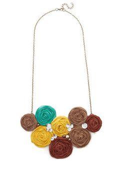 Playful Potpourri Necklace