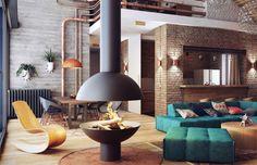 Estos son algunos rasgos que distinguen a un loft de otros estilos, tanto en sus orígenes, como su arquitectura y diseño, y por último la decoración pasa a completar la idea.