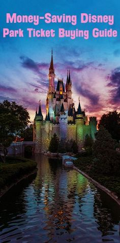 Tips & tricks for buying the best Walt Disney World ticket options for your party, and saving money on them!