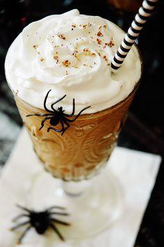 Pumpkin Bourbon Milkshakes - leave out the bourbon for a delicious non ...