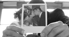Hochzeitsgästebuch gestalten mit Polaroidfotos