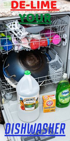 Cleaning Your Dishwasher, Diy Home Cleaning, Household Cleaning Tips, Household Cleaners, Diy Cleaners, House Cleaning Tips, Cleaning Hacks, Cleaning Challenge, Dish Washer