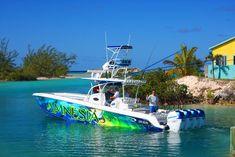Nor-Tech 392 Super Fish center console fishing boat.