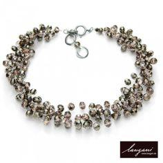 "Langani Collier ""Sternenglitzer""   #langani #necklace #jewelry #designerschmuck #collier"