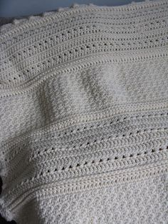 May Day Baby Blanket By Cindy Van Den Toorn - Free Crochet Pattern - (ravelry)
